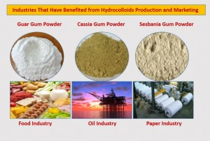 Industries  Benefited from Hydrocolloids