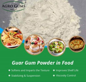 Applications of the Guar Gum in Food