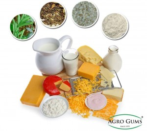 Application of Guar Gum in Dairy Products